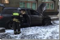 В Москве неизвестные сожгли автомобили и разбросали листовки против «Матильды»