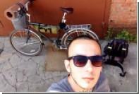 Россиянин добрался из Москвы в Петербург на велосипеде