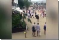 Драка вышибал с туристами на Майорке попала на видео