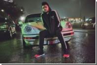 The Weeknd примерил спортивный костюм в японском стиле
