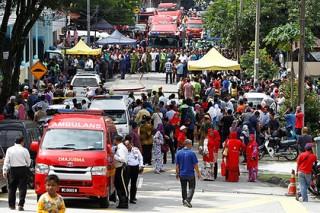 В малайзийской религиозной школе сгорели 24 ученика и преподавателя