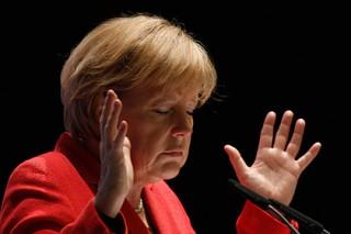 Меркель назвала интересным предложение Путина о миротворцах в Донбассе