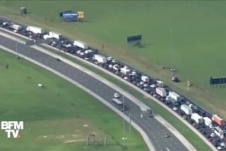 Полмиллиона человек в панике сбежали из Флориды от урагана «Ирма»