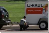 Американские воры угнали джип с находящимся в прицепе покойником