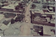 Беспилотник снял лежащую в руинах Ракку
