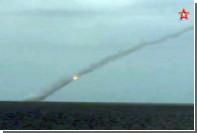 Пуски «Калибров» по боевикам в Сирии показали на видео