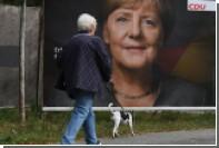 Партия Меркель получила большинство на выборах в Бундестаг