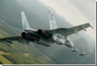 Бельгийские истребители сопроводили российские Су-27 над Балтийским морем