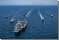 США и Южная Корея проведут новые учения с участием американского авианосца