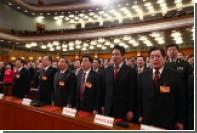 Китайцев начнут карать за неуважение к гимну