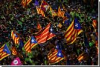 Сотни тысяч каталонцев вышли на улицы Барселоны на марш независимости