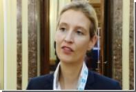 Ультраправый кандидат в канцлеры Германии сбежала с теледебатов