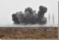 Минобороны показало на видео удары по боевикам в Идлибе