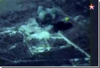 Опубликовано видео поражения позиций ИГ российскими крылатыми ракетами