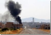 Сирия пожаловалась на бомбардировку израильских ВВС