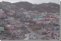 Опубликовано видео последствий удара урагана «Ирма» по острову Тортола