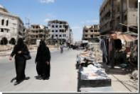 «Молодежь сунны» заподозрили в подготовке химической атаки в Сирии
