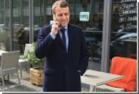 Номер мобильного телефона Макрона слили в сеть