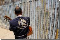 Прототип стены на границе с Мексикой начали строить в США
