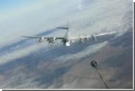 Дозаправку Ту-95 перед ракетным ударом по боевикам в Сирии показали на видео