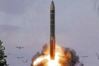Россия запустила новейшую ракету с разделяющейся головной частью