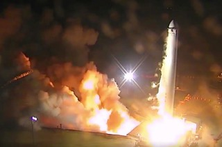 SpaceX завершила испытания первой ступени сверхтяжелой ракеты Falcon Heavy