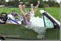 Переделанный в джакузи автомобиль показали на видео