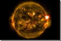 На Солнце произошла новая мощнейшая вспышка