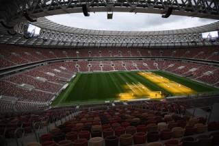 Путин на обновленных «Лужниках» открыл тур Кубка чемпионата мира