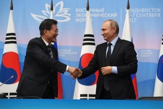 Лидер Южной Кореи пригласил Путина на церемонию открытия Олимпиады-2018
