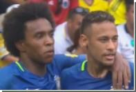 Бывший игрок «Анжи» забил мяч за сборную Бразилии ударом в девятку с лета