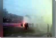 Фанат ударил футболиста «Карпат» по лицу после поражения команды