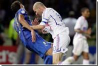 Зидан рассказал о сожалении за удар Матерацци головой в финале ЧМ-2006