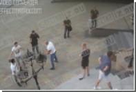 Опубликовано новое видео смертельной драки пауэрлифтера Драчева