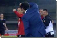 Тренер «Валенсии» получил травму во время празднования гола