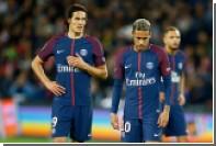 СМИ назвали причину конфликта между футболистами ПСЖ Неймаром и Кавани