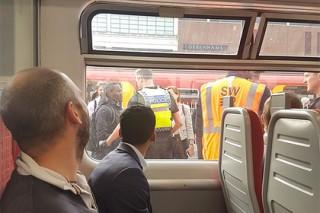Напуганные Библией пассажиры выпрыгнули из лондонского поезда
