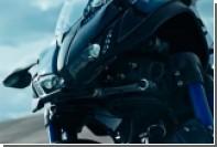 Японцы показали самый устойчивый в мире мотоцикл