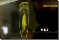 Производство секретного внедорожника Lamborghini показали на видео