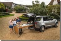 Land Rover Джейми Оливера оснастили тостером, маслобойкой и грядкой