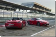 Богатым автолюбителям предложили еще более мощный Porsche 718