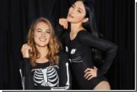 Девушкам предложили праздновать Хеллоуин в нижнем белье