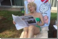 Актриса из «Девчат» сфотографировалась в купальнике в 81 год