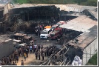 На фабрике фейерверков в Джакарте заживо сгорели 23 человека