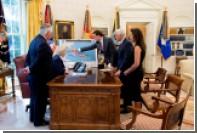 Президенты США нашли необычное применение красной кнопке