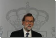 Испанский премьер-министр допустил смену власти в Каталонии