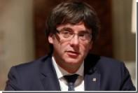Пучдемон подписал декларацию о независимости Каталонии