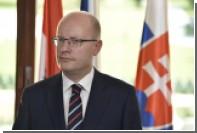 Чешский премьер открестился от слов Земана о Крыме
