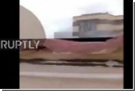 Самоподрыв боевика ИГ в Ливии попал на видео