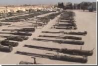 В Сирии показали захваченные у ИГ советские танки и американские пушки